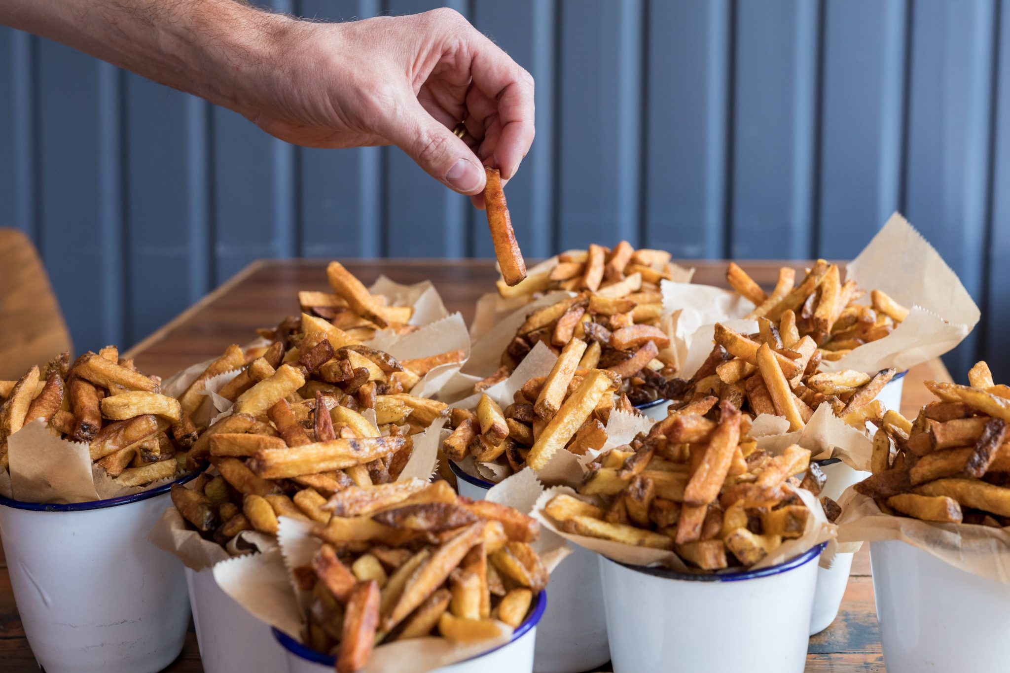 Hand Cut Chips (every single one. Always)